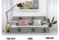 Foulard sofa Tldn Prar Foulares Multiusos Stars Foulard sofa O Cama Multiusos