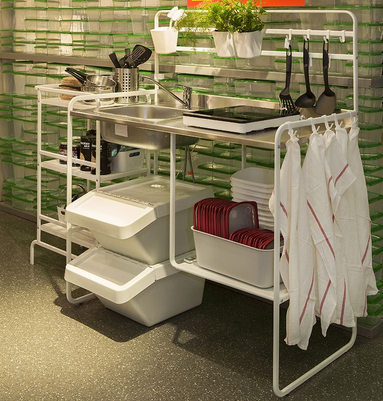 Fregadero Portatil Ikea 87dx Tendencias En Cocinas Para 2017