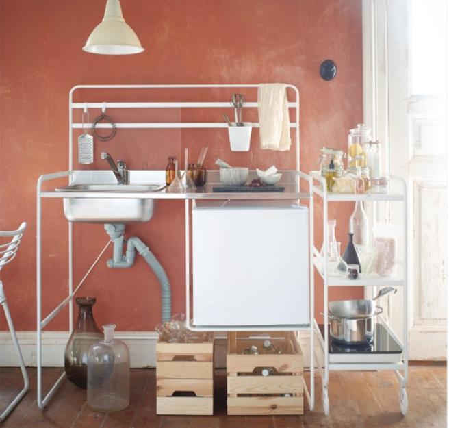Fregadero Portatil Ikea Wddj Esta Cocina Portà Til Es La Respuesta A Tus Dilemas De Espacio