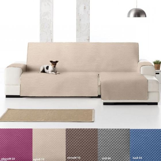 Funda Cubre sofa D0dg Funda Cubre sofà Chaise Longue Oslo Eysa Textil Gauus