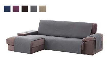 Funda Cubre sofa Mndw Textil Home Funda Cubre sofà Chaise Longue Adele Protector Para
