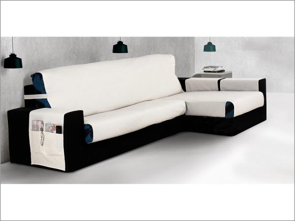 Funda Cubre sofa Qwdq Funda Cubre sofa Chaise Longue Belmarti Praga Textildelhogar
