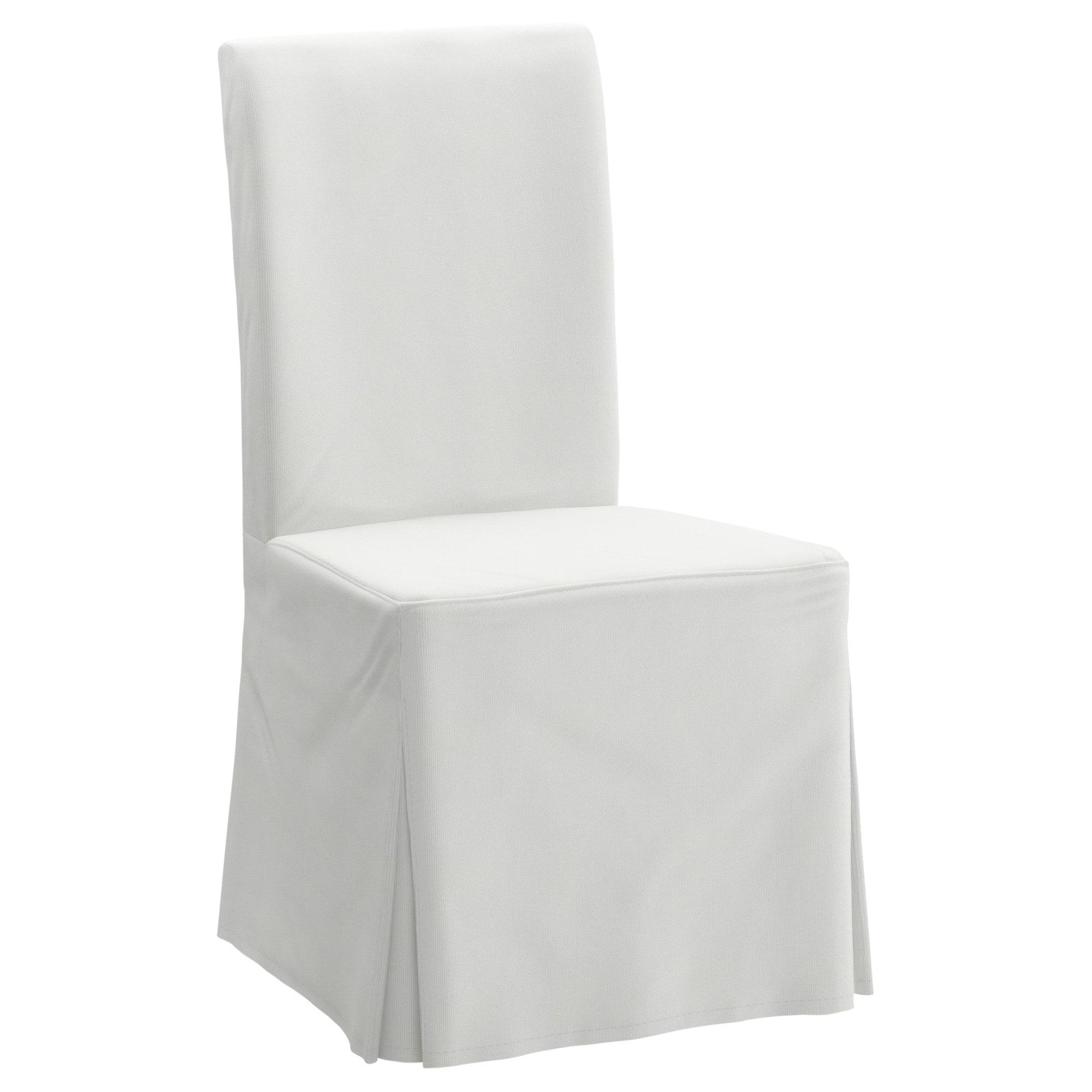Funda Para Silla Rldj Henriksdal Funda Larga Para Silla Blekinge Blanco Ikea