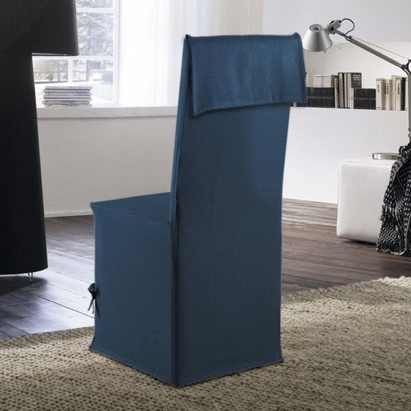 Funda Para Silla Tqd3 Fundas Para Sillas Stella Azul Decoracià N Textil Eminza