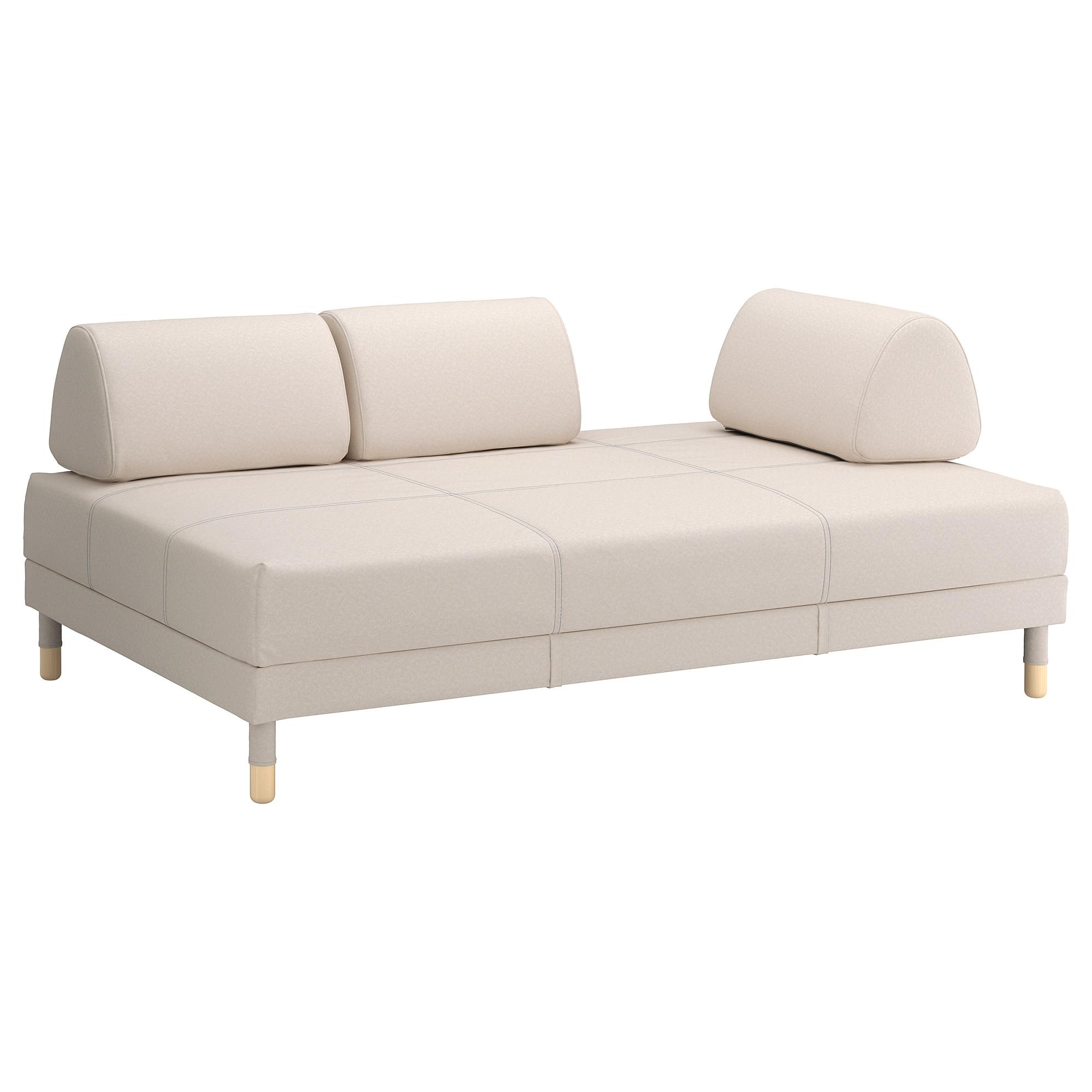Funda sofa Cama E6d5 Flottebo Funda sofà Cama Lofallet Beige 120 Cm Ikea