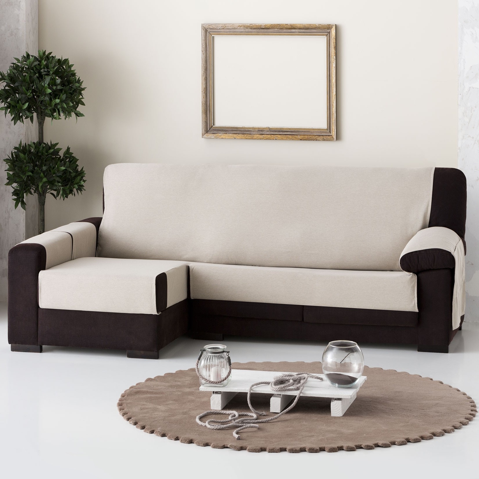 Funda sofa Chaise Longue 3id6 Funda sofà Chaise Longue Prà Ctica Constanza Lino