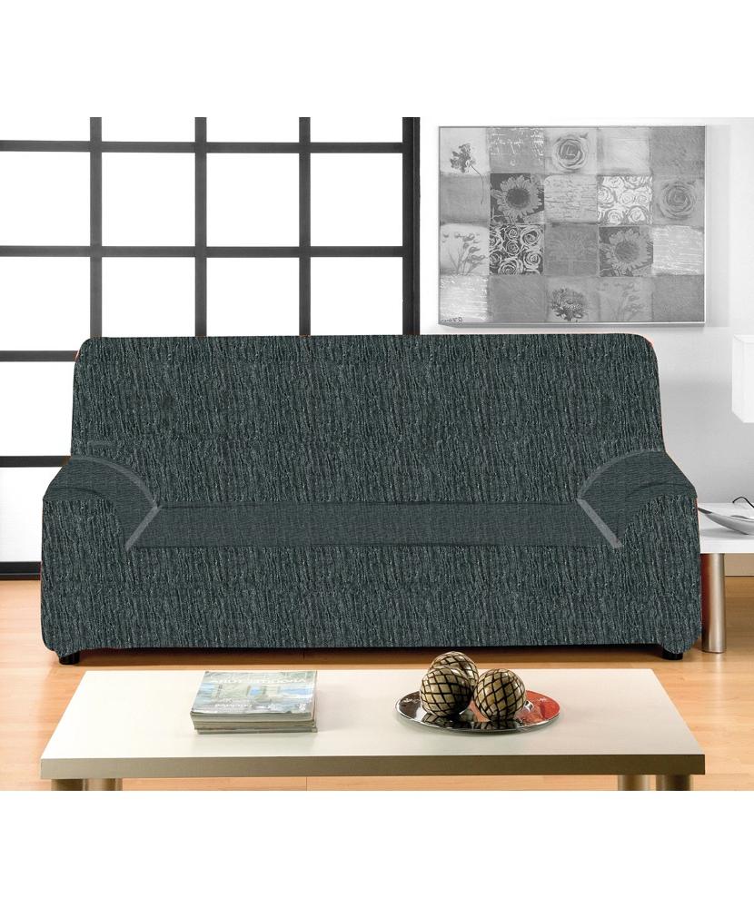 Funda sofa Gris 3id6 Prar Fundas De sofà Funda sofa Lisa Gris 3 Plazas Extensible De