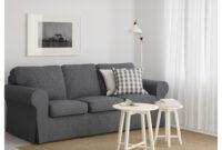 Funda sofa Gris 4pde Ektorp sofà 3 Plazas nordvalla Gris Oscuro Ikea
