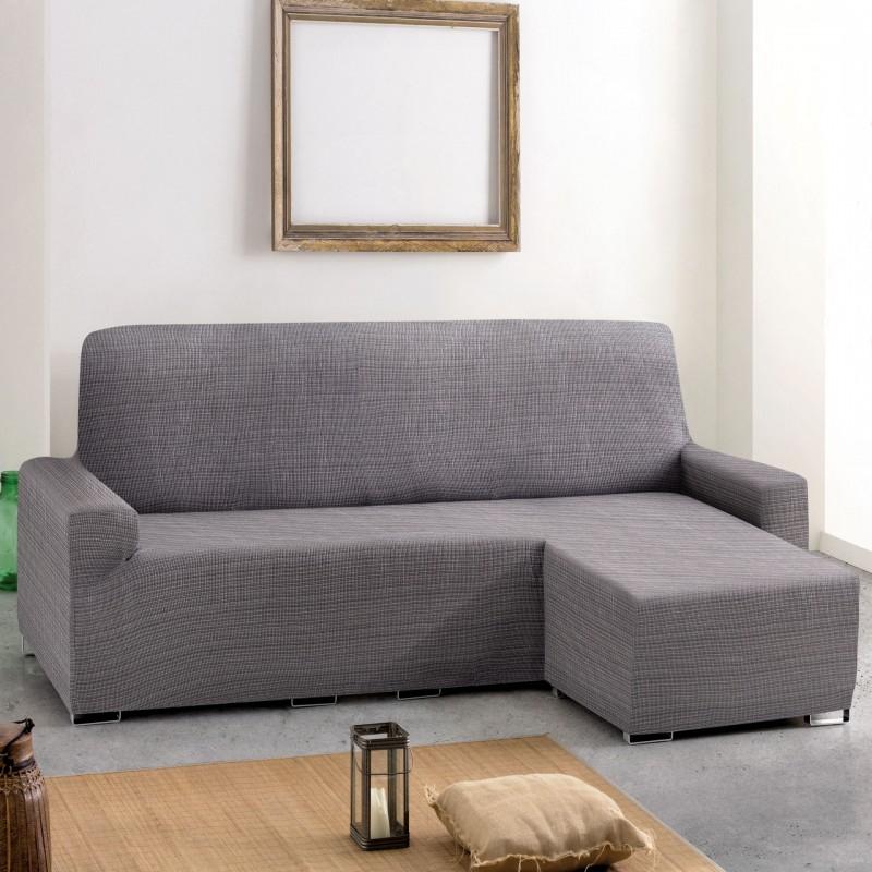 Funda sofa Gris 9fdy Funda sofà Extra Chaise Longue Brazo Corto Elà Stica Aquiles