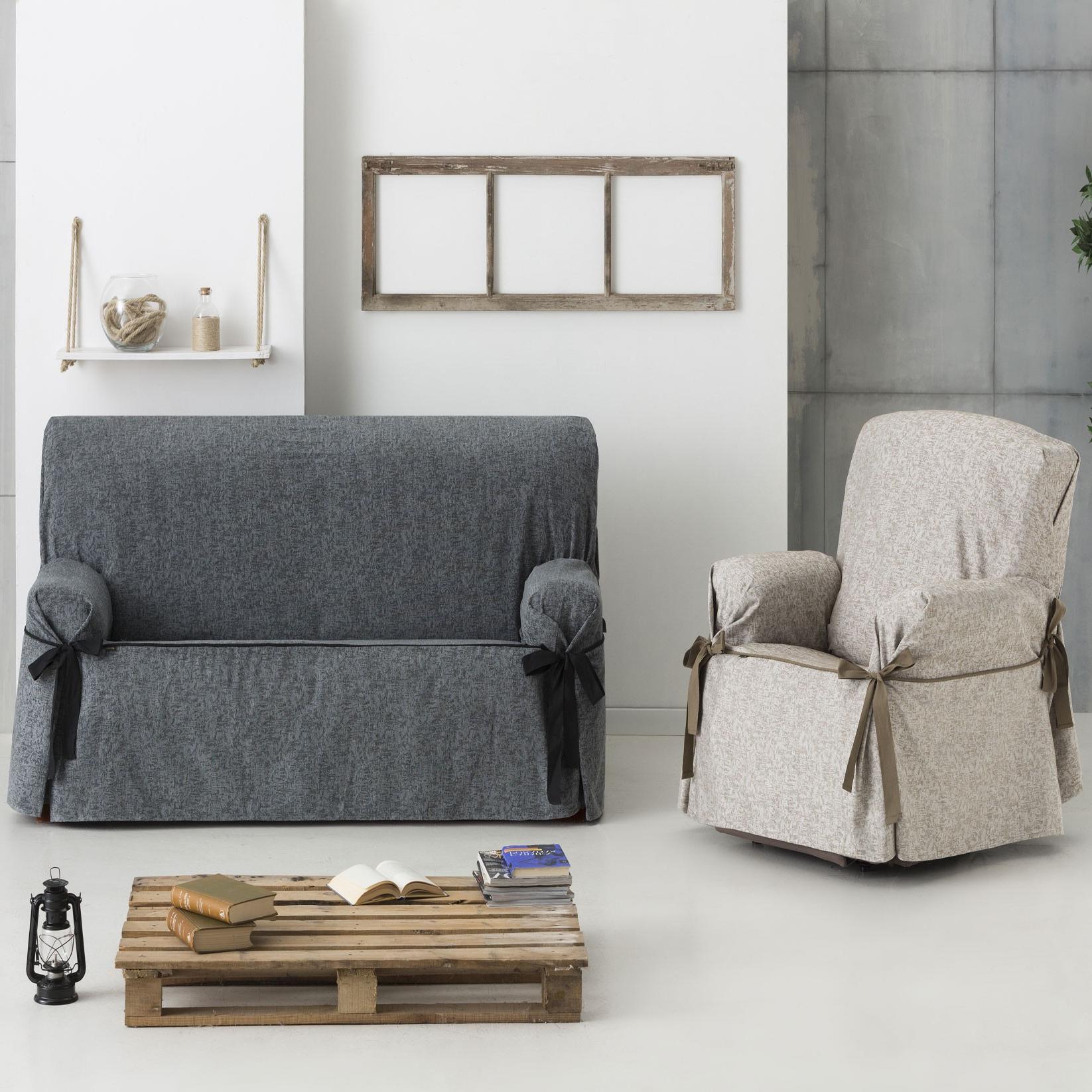 Funda sofa Gris Budm Funda sofà Universal Dream Lazos
