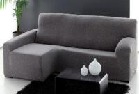 Funda sofa Gris Ipdd Affascinante sofa Gris Barato Funda Extra Chaise Longue Elastica Dam