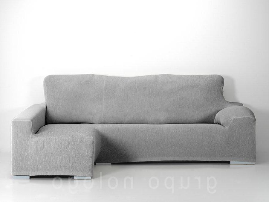 Funda sofa Gris Nkde Funda Chaise Longue Ajustable Jana
