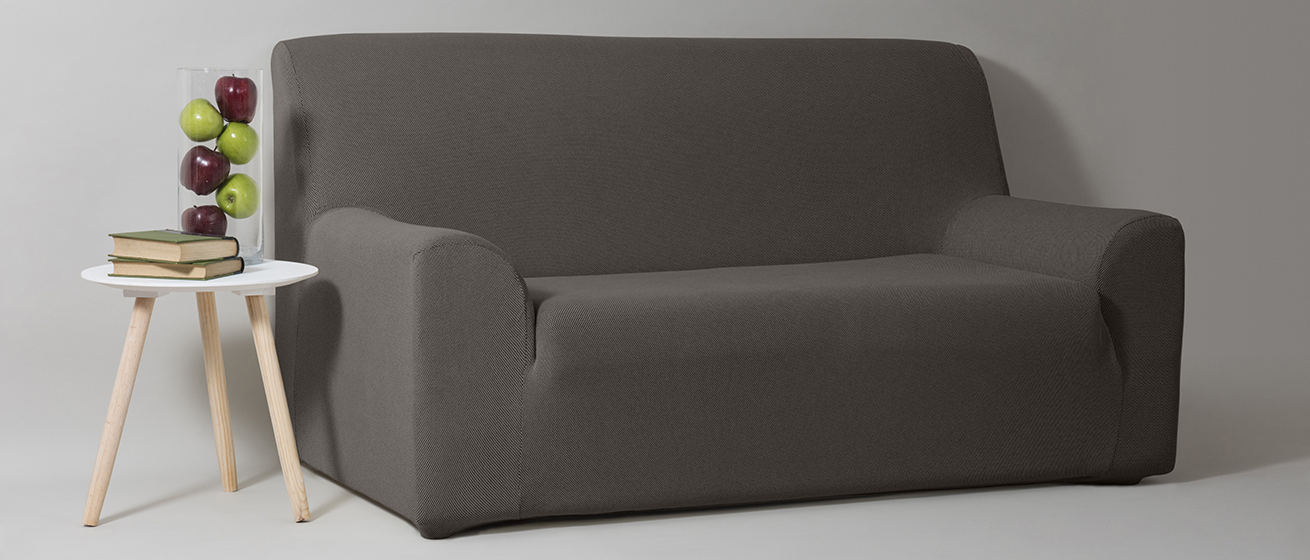 Funda sofa Gris Whdr Funda sofa Universal Gris Velfont