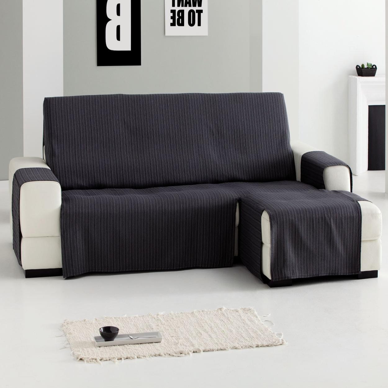 Funda sofa Gris X8d1 Funda sofà Chaise Longue Prà Ctica Jara