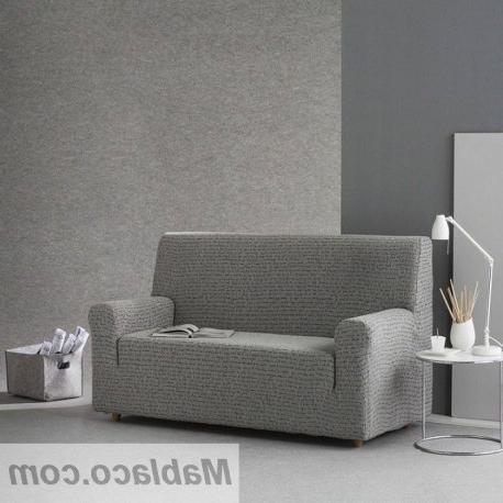 Funda sofa Gris Zwdg Funda De sofa Elasticas Letras
