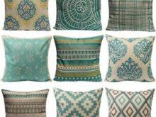 Fundas Cojines sofa Fmdf Funda De Cojin Vintage Verano Lino Algodon Manta Cojines Para sofa