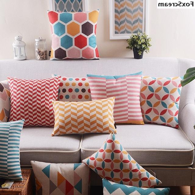 Fundas Cojines sofa Whdr Cojines nordicos Cojines Decorativos Vintage Fundas Cojines