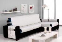 Fundas De sofa Ajustables Conforama Jxdu Cubre Chaise Longue A La Izquierda 240 Cm Praga Crudo Conforama