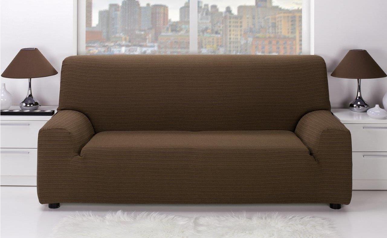 Fundas De sofa Ajustables Conforama T8dj Funda sofà 3 Plazas Ibiza Chocolate Chocolate Conforama