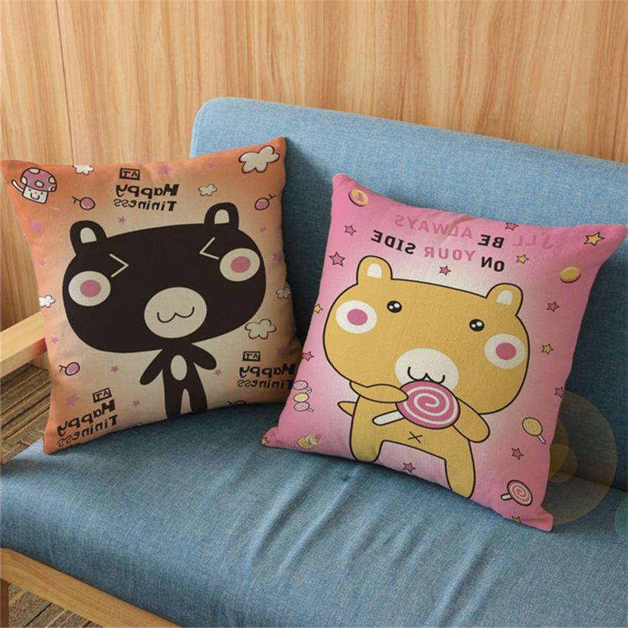 Fundas Para Cojines De sofa Zwdg Animal Beer Bed Pillow Cases Home Decor for sofa Fundas Para Cojines