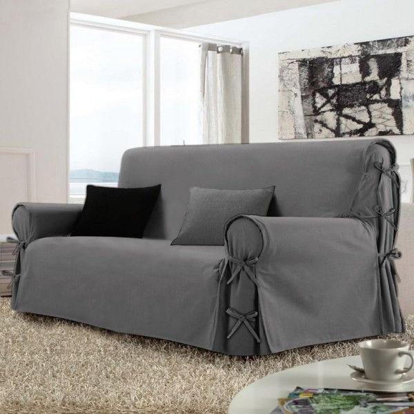 Fundas Para sofas Irdz Funda Para sofà 3 Plazas Victoria Gris Decoracià N Textil Eminza