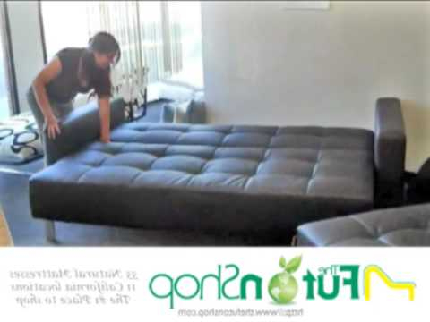 Futon sofa Cama S1du Lincoln Park Futon sofa Bed From the Futon Shop Youtube