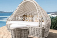 Garden Furniture Spain Nkde Canopy Designed Triangular Outdoor Pool Sun Bathing Daybed Cane Wicker Garden Furniture Spain Garden Furniture Spain Cane Furniture Outdoor