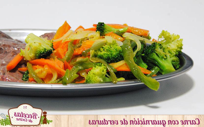 Guarnicion De Verduras E9dx Guarnicià N De Verduras Para Carnes Y Pescados