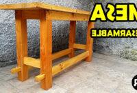 Hacer Mesa De Madera Kvdd O Hacer Mesa De Madera Desarmable How to Create A Wooden Table