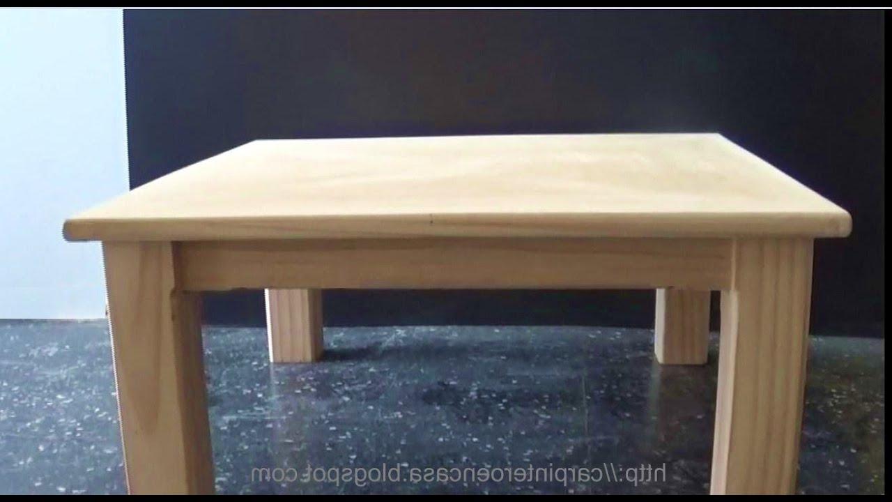 Hacer Una Mesa De Madera 3id6 O Hacer Una Mesa De Madera Wooden Table Part 2 Juan Carlos