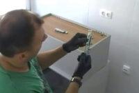 Herrajes Colgar Mueble Pared Zwdg O Montar Un Mueble De Cocina Alto Youtube