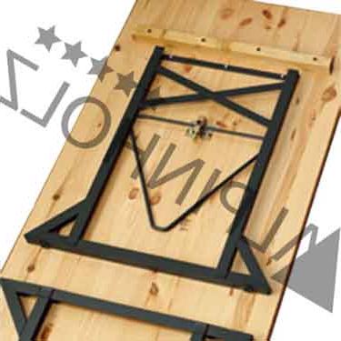 Herrajes Para Mesas Plegables 4pde Herrajes Con Pata Anti Vuelco Mesa Plegable Alpinholz Alpinholz