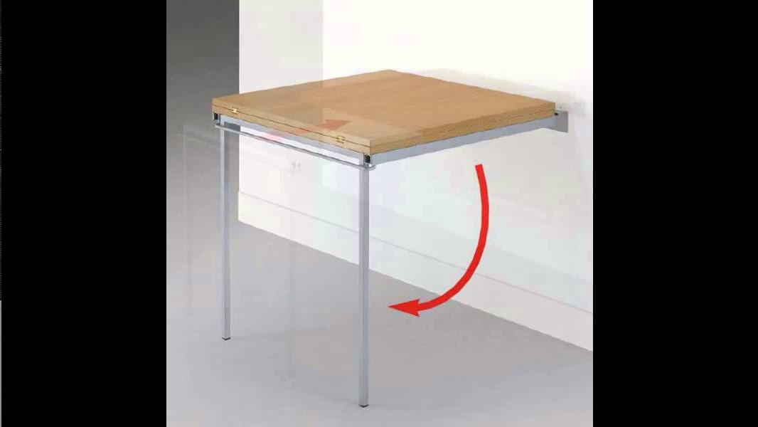 Herrajes Para Mesas Plegables Txdf Estructura Plegable Para Mesa H70 Aluminio Youtube