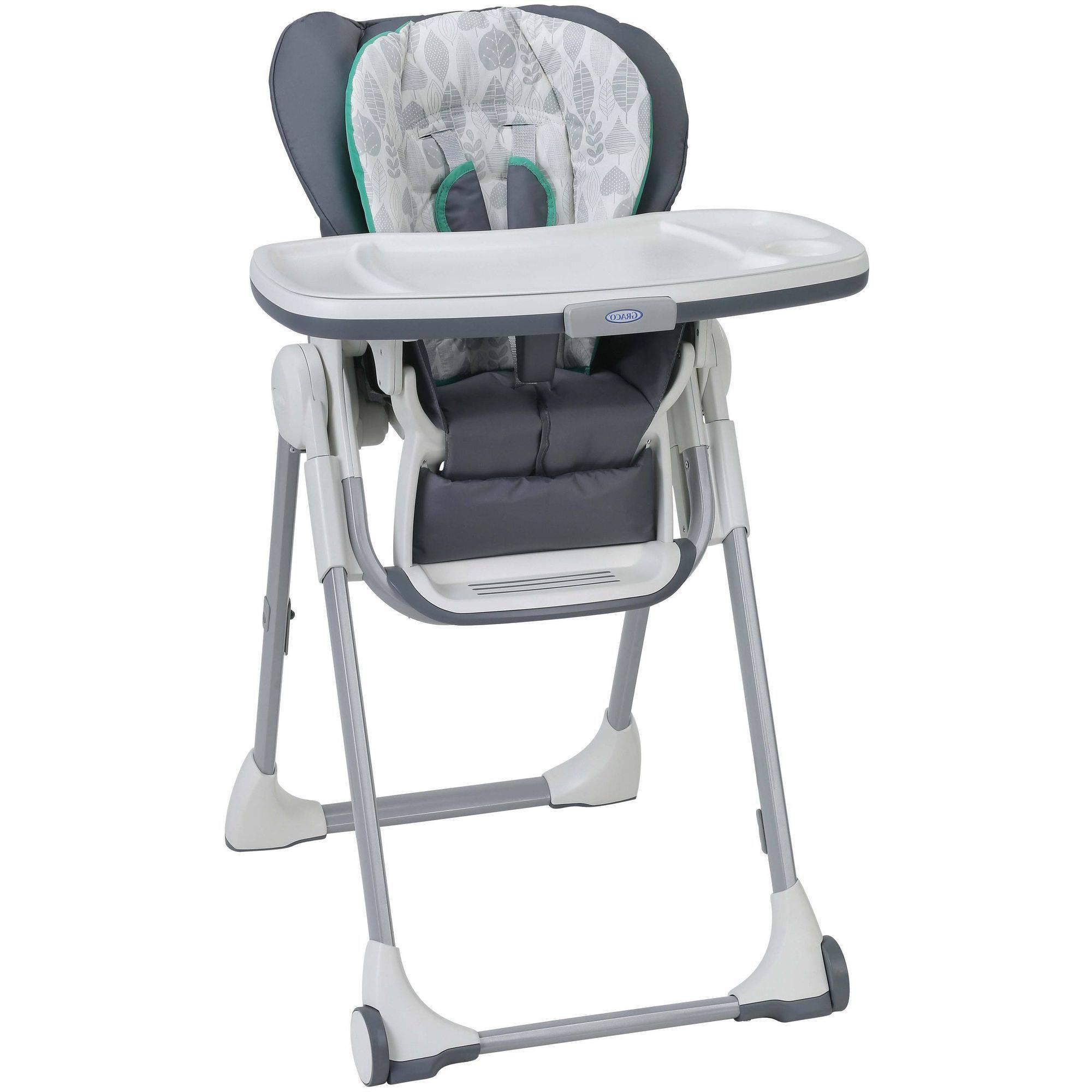 High Chair S5d8 Graco Swift Fold High Chair Briar Walmart