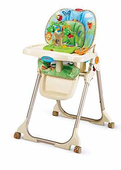 High Chair Xtd6 Fisher Price Rainforest Healthy Care High Chair