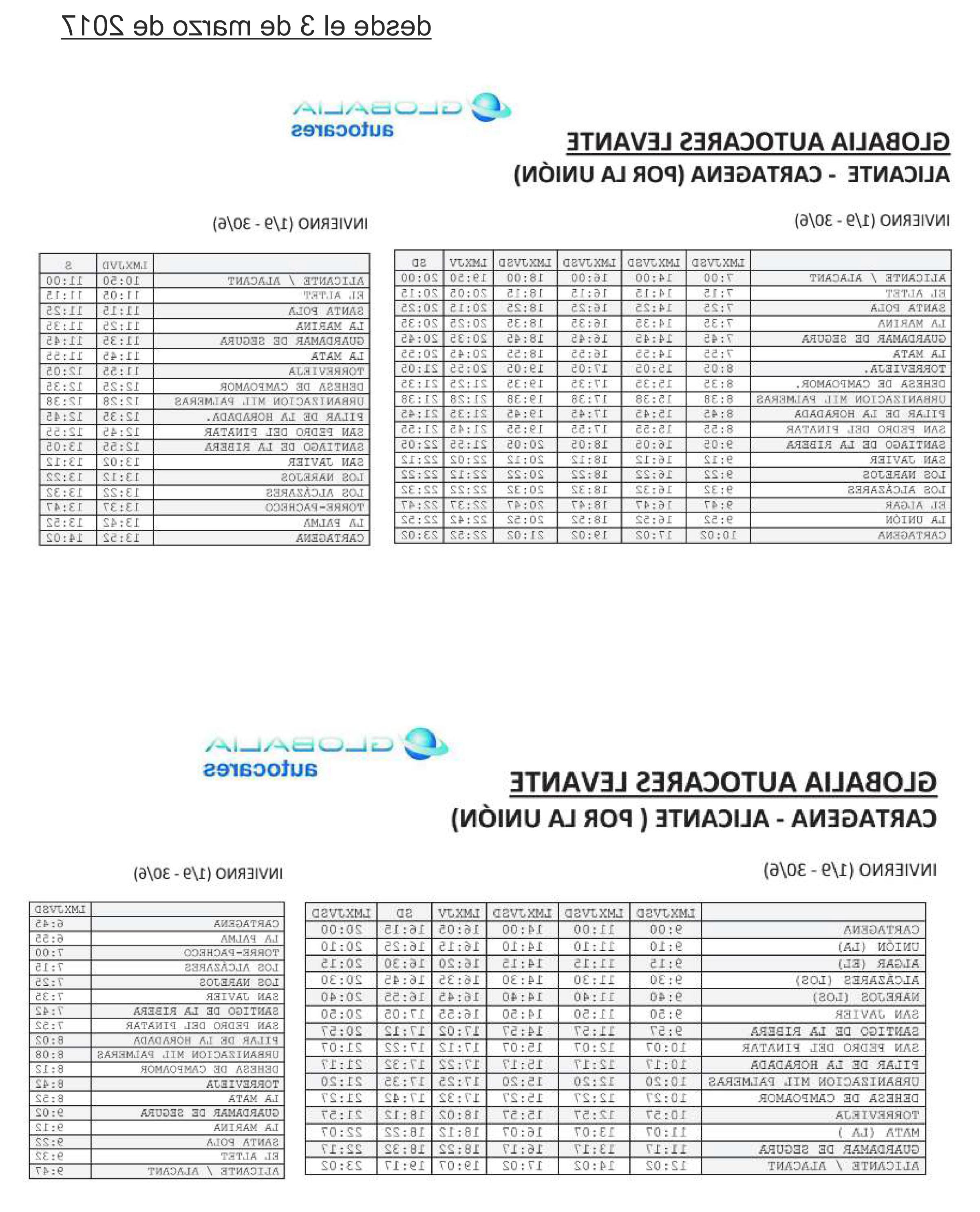 Horario Autobuses Murcia Cartagena Q5df Autobus De Alicante A Cartagena Pasando Por torrevieja torrevieja