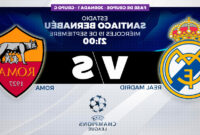 Horario Madrid T8dj Champions League 2018 Real Madrid Vs Roma Horario Canal Y DÃ Nde