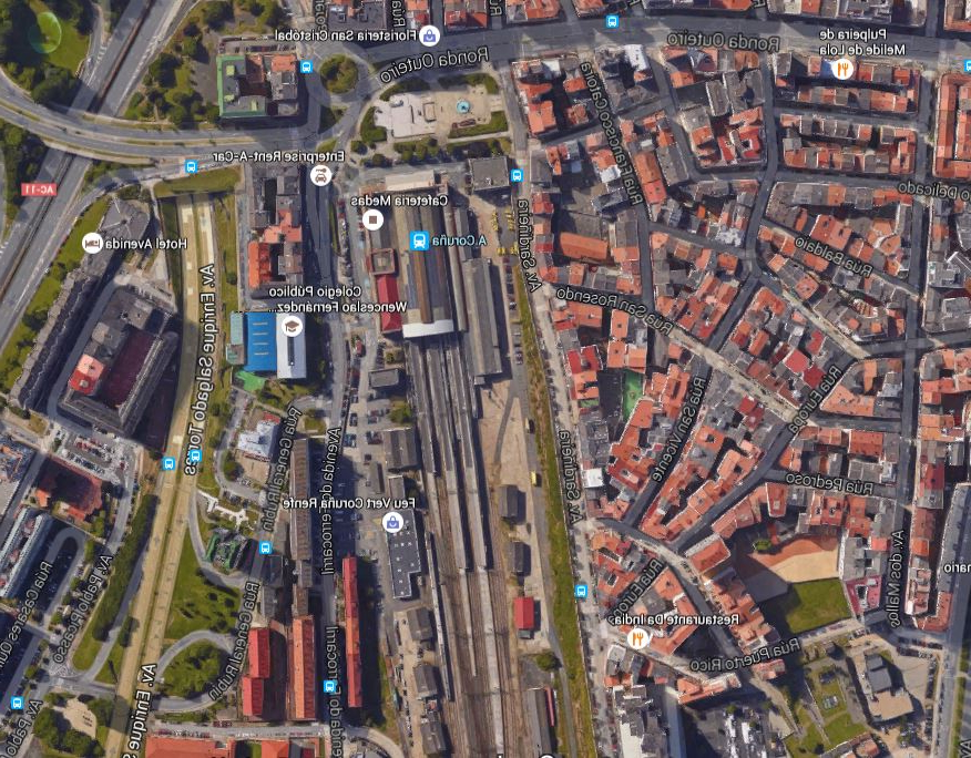 Horario Trenes Vigo Coruña 9fdy Estaciones Gallegas A Coruà A San Cristà Bal