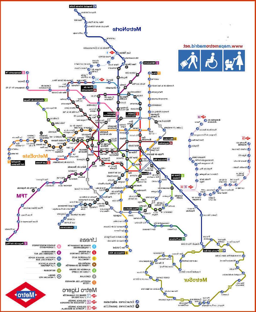 Horarios De Metro Madrid E9dx Metro De Madrid Precios LÃ Neas Horarios Y Mapa Del Metro De Madrid