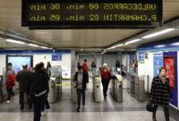 Horarios De Metro Madrid Irdz Huelga De Metro De Madrid Horario Y Servicios MÃ Nimos Madrid El