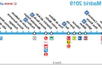 Horarios De Metro Madrid Mndw LÃ Nea 1 Del Metro De Madrid L1 Actualizado 2019