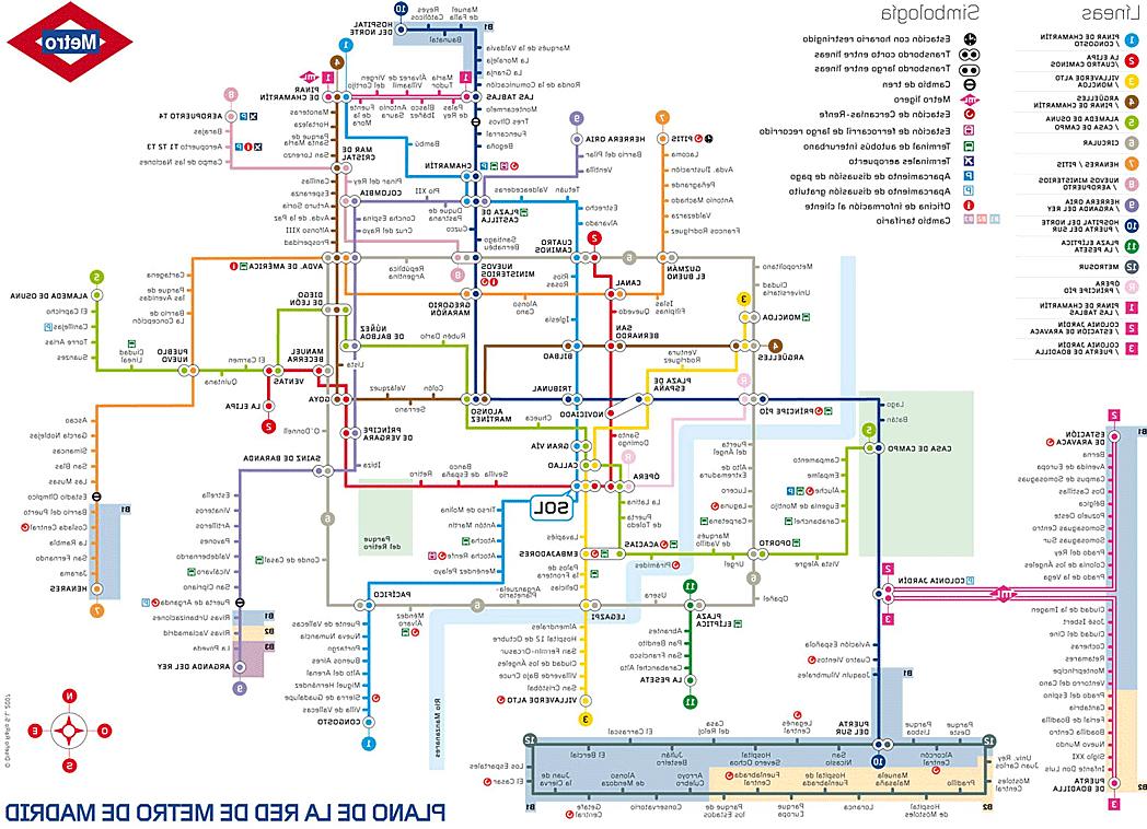 Horarios De Metro Madrid S5d8 Metro De Madrid Tarifas Y Plano Del Metro De Madrid