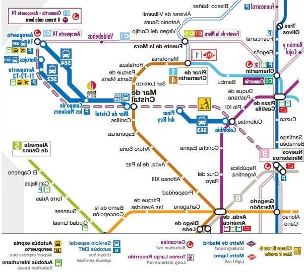 Horarios De Metro Madrid T8dj Ienza El Cierre De La LÃ Nea 8 De Metro De Madrid Estas son Las