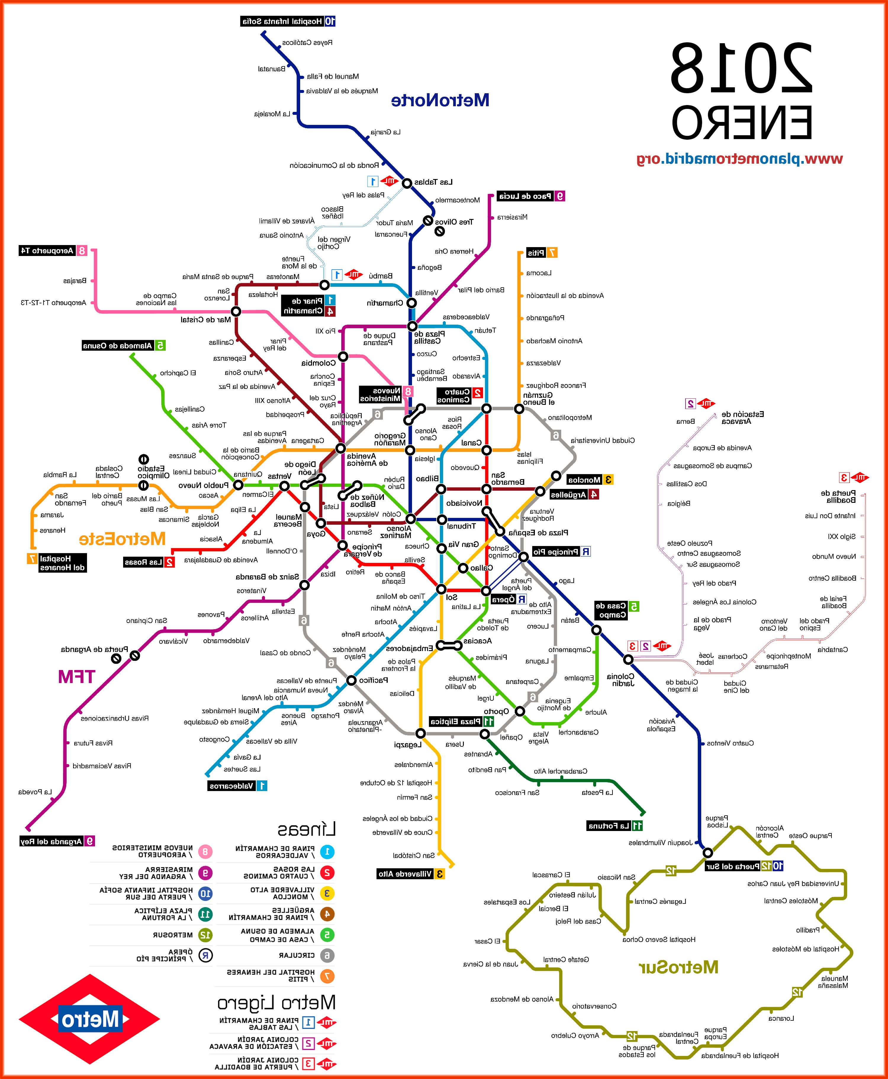 Horarios De Metro Madrid U3dh Metro De Madrid Tarifas Horario Mapa 101viajes