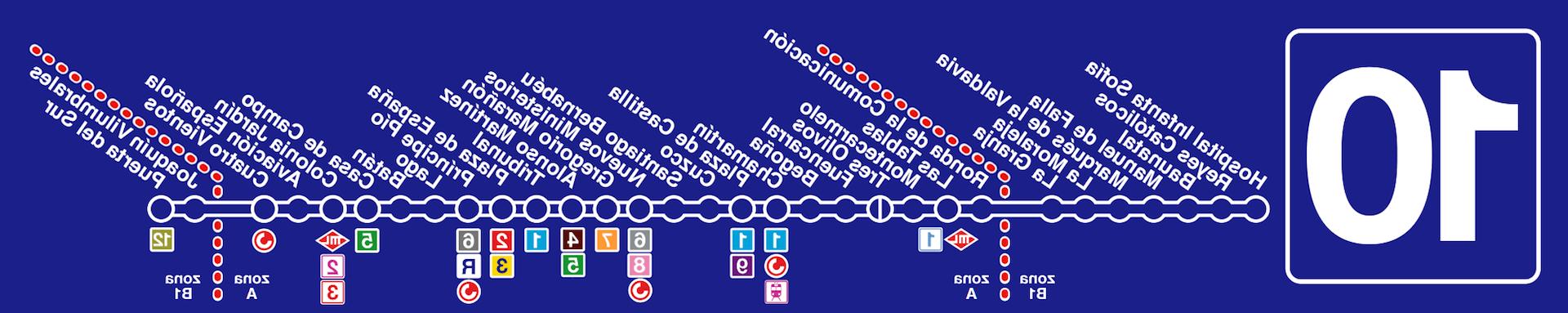 Horarios De Metro Madrid Wddj LÃ Nea 10 Metro Madrid Estaciones Y Horarios