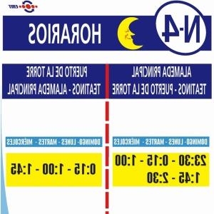 Horarios Emt Malaga Thdr LÃ Nea N4 Autobuses Emt De MÃ Laga