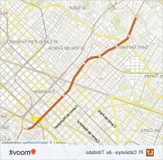 Horaris Fgc Q0d4 L7 Route Time Schedules Stops Maps