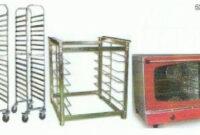 Horno De Mesa Zwd9 Maquinaria Panaderia Horno Conveccion Mesa soporte Carro Bandejas