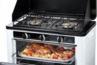 Horno Portatil 9fdy Horno Cocina A Gas Portà Til Doble Jata Hcg800