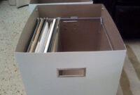Ikea Archivadores Oficina E6d5 Ikea Hack Caja Para Guardar Carpetas Colgantes X4duros